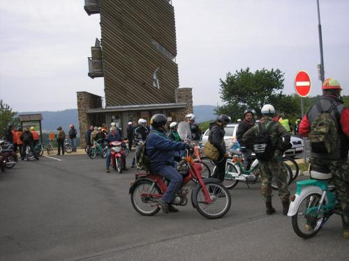 Sraz mopedistů 2012