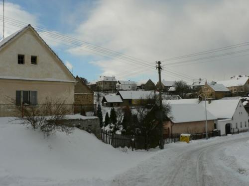spodní část obce